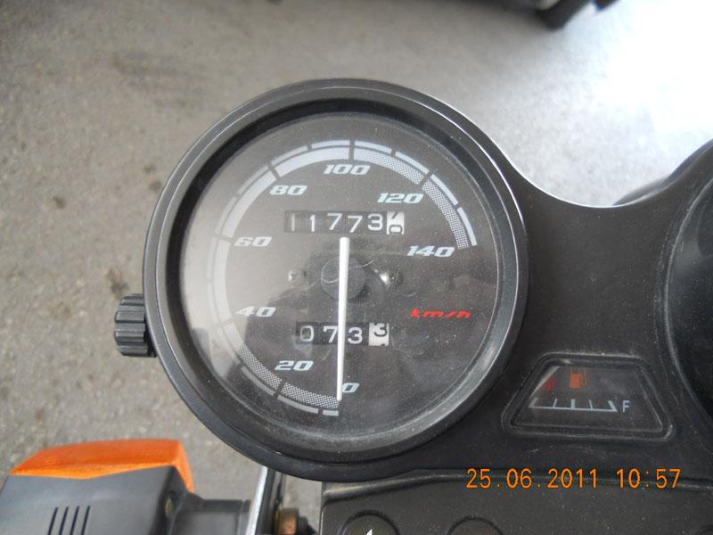 yamaha ybr 125 km saati
