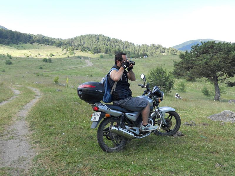 motosikletli fotoğrafçılık