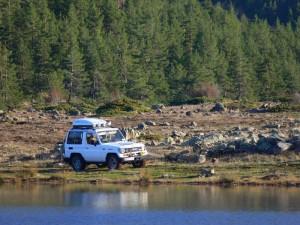 Off-road , trekking, kamp, balık avı