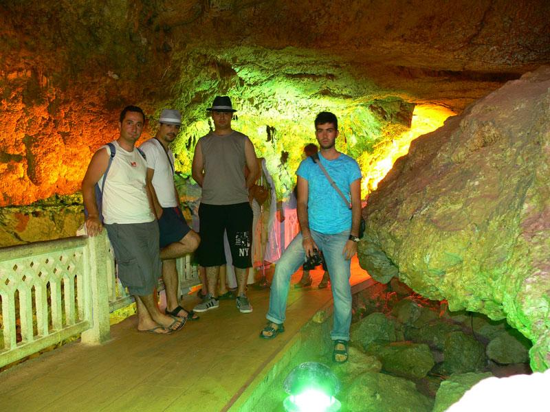 mağara gezisi