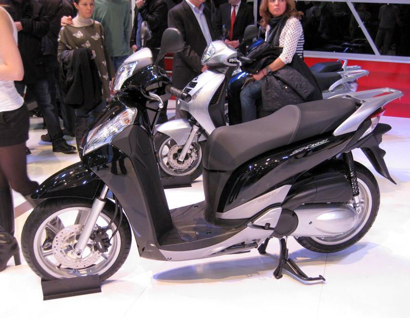 2013 Motosiklet Fuarı Honda SH 300i