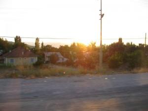 güneş batmakta