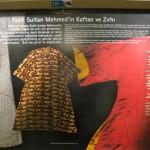 Fatih Sultan Mehmet'in Kaftanı ve Zırhı