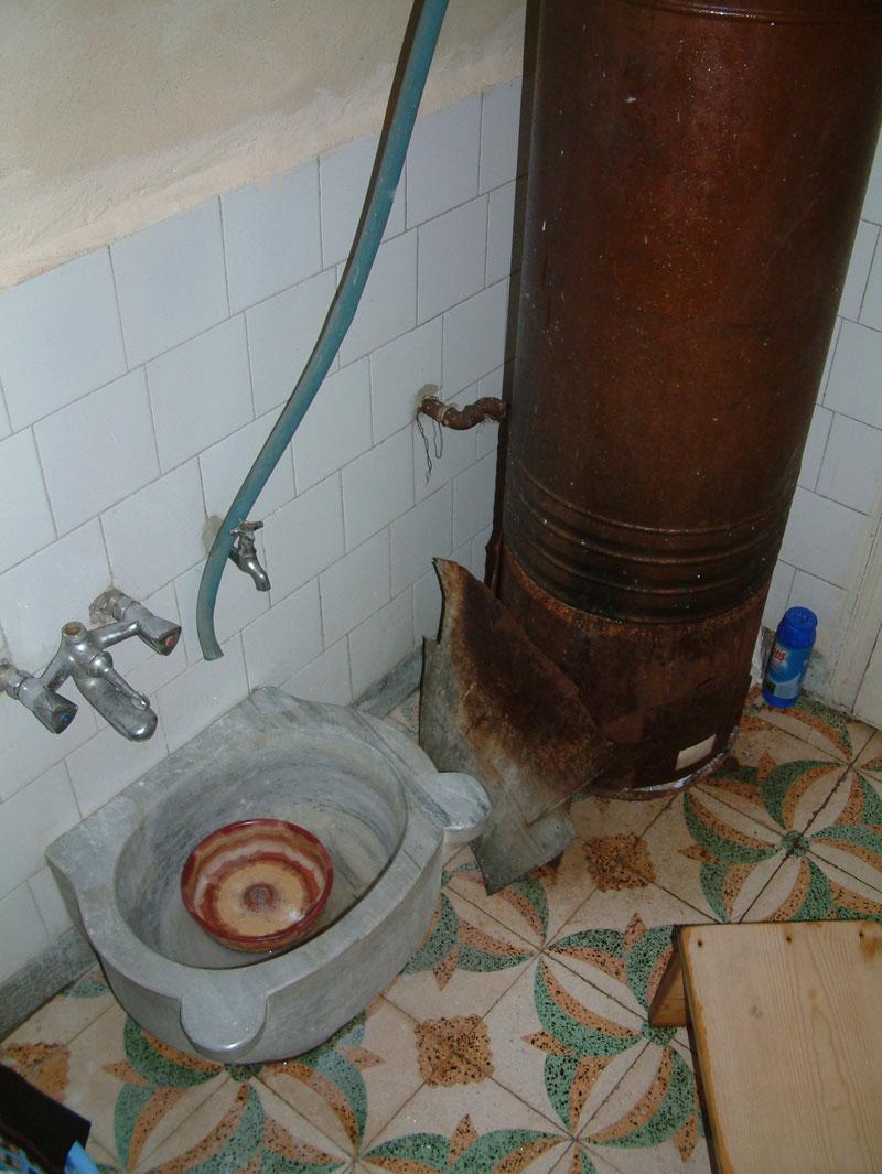 pirinalı banyo kazanı