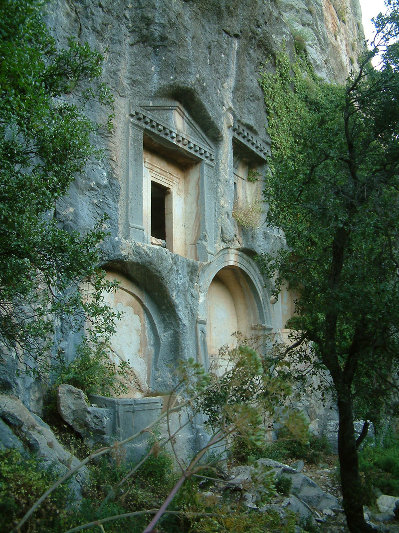 rock tombs of Termessos