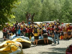 rafting hazırlık
