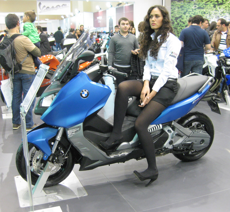 2013 Motosiklet Fuarı BMW ABS'li