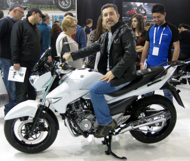 Eurasia Moto Bike Expo 2014, Beyaz Suzuki İnazuma