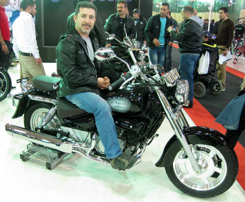Eurasia Moto Bike Expo 2014, Hyosung Aquila