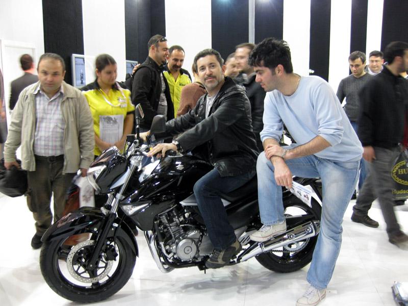 2013 Motosiklet Fuarı Suzuki Inazuma