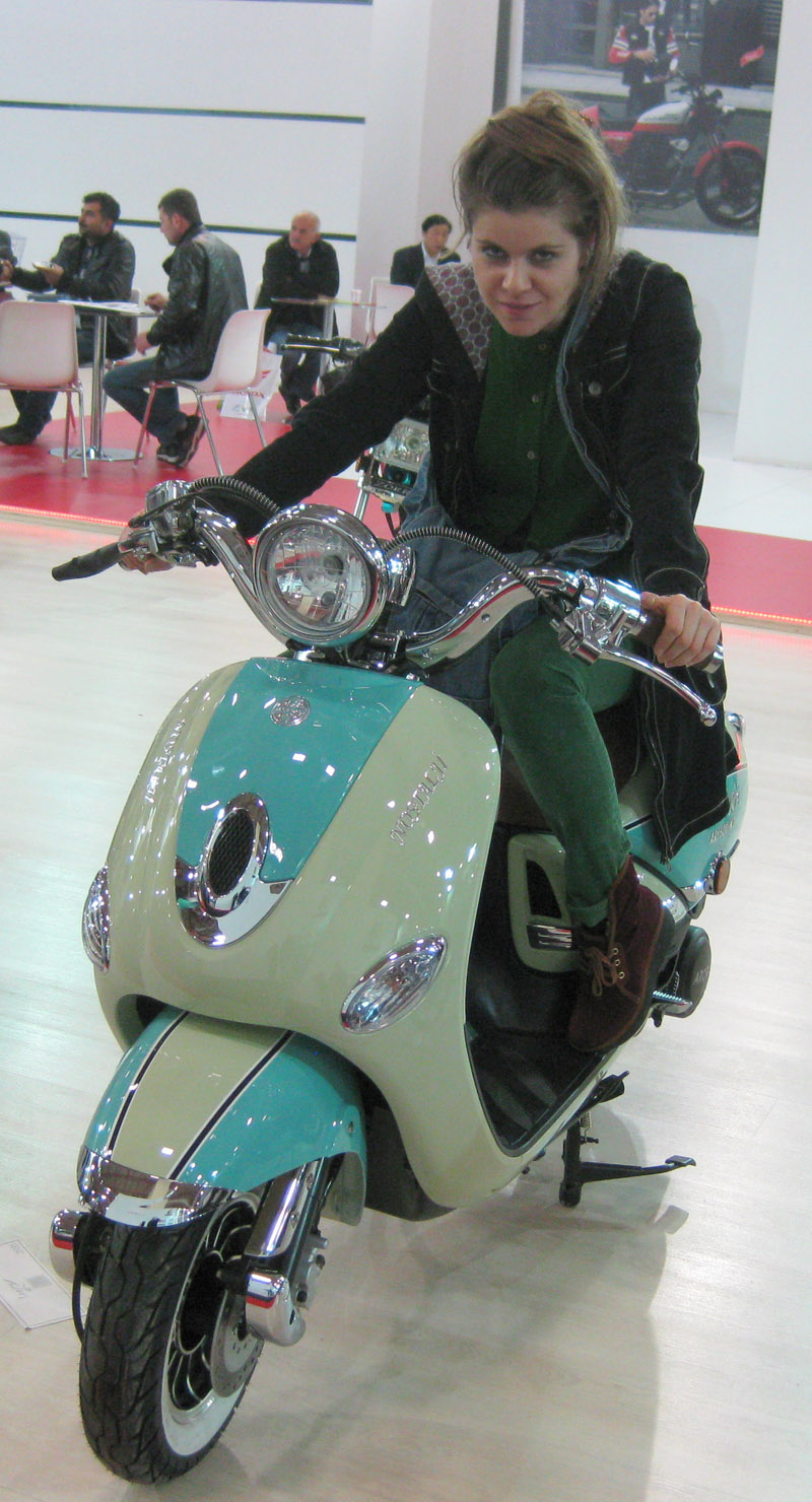 Eurasia Moto Bike Expo 2014, Nostalji Scooter