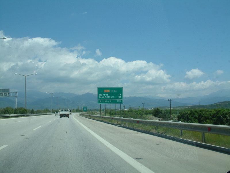 otoyoldan nur dağları