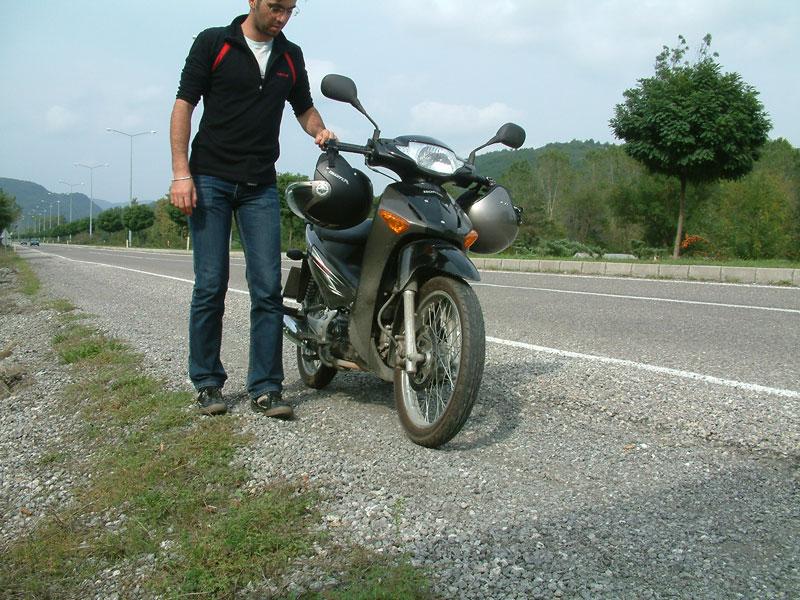 Motosiklet uzun yol