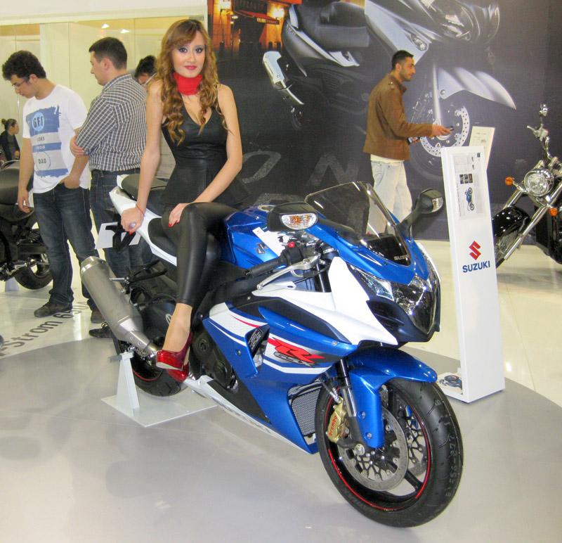 2013 Motosiklet Fuarı Suzuki