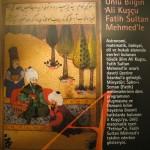 Fatih Sultan Mehmet ve Hocası Ali Kuşçu