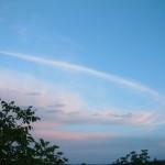 güneş bulutlara vuruyor