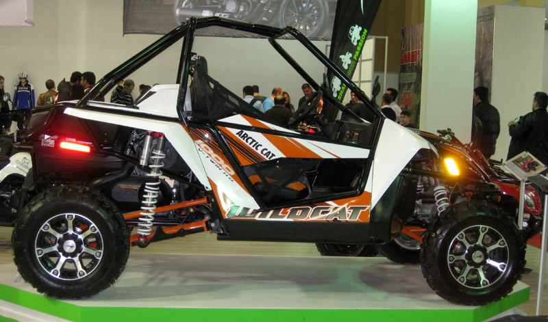 Eurasia Moto Bike Expo, ATV, Arctic Cat, Wildcat