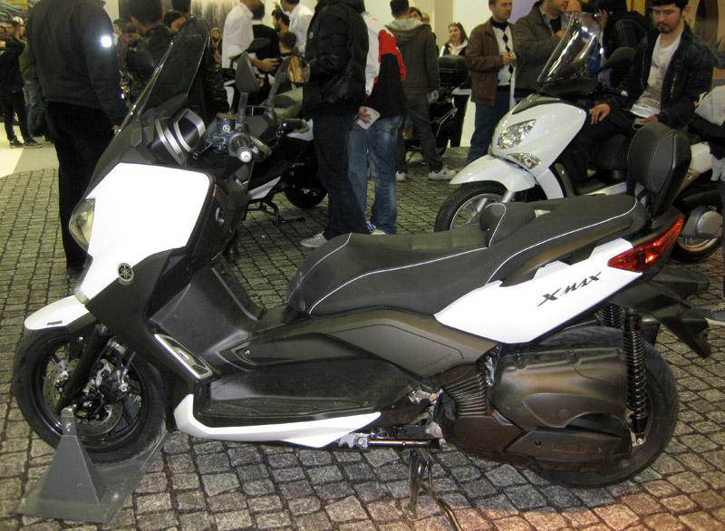 Eurasia Moto Bike Expo, Yamaha, XMax