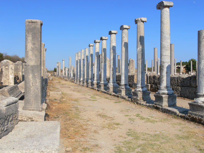 antalya'da tarihi yerler