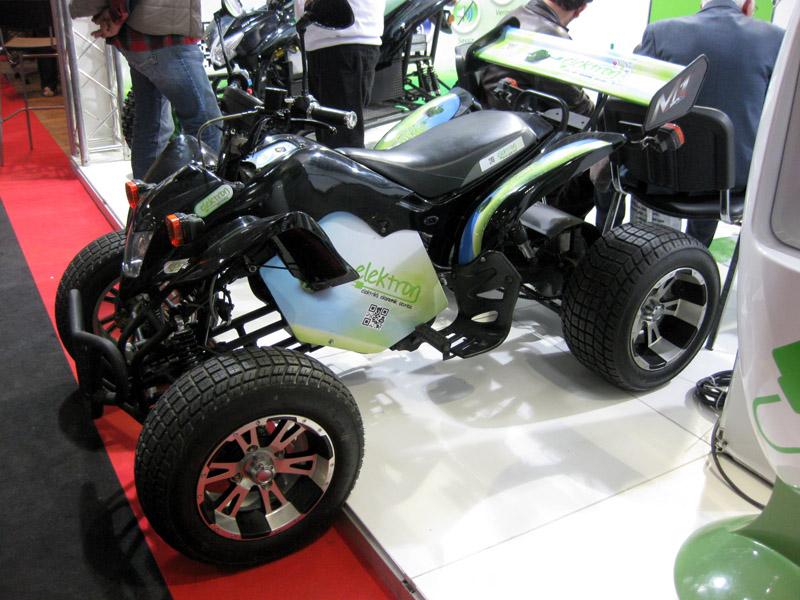 2013 Motosiklet Fuarı Ekolojik ATV