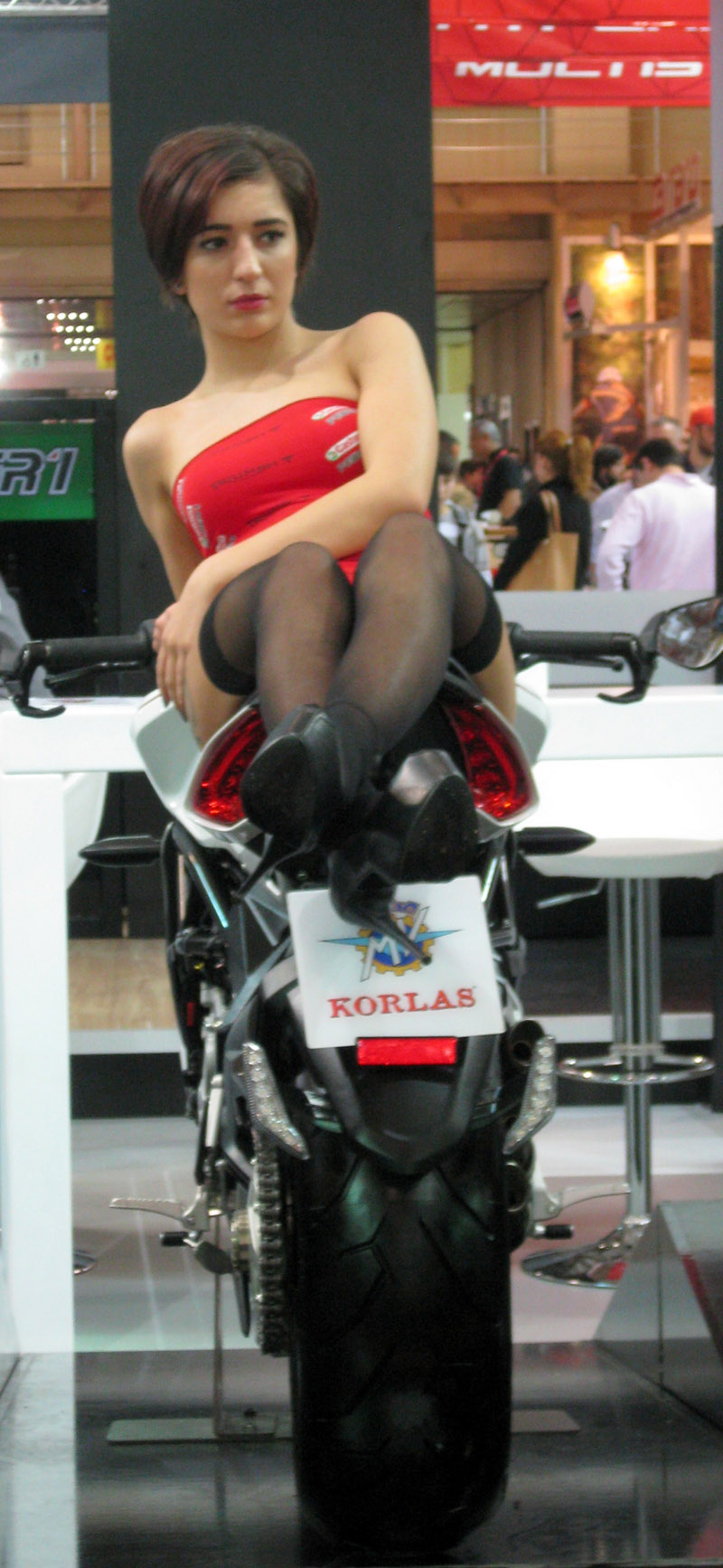 Eurasia Moto Bike Expo, Korlas, Seksi Manken