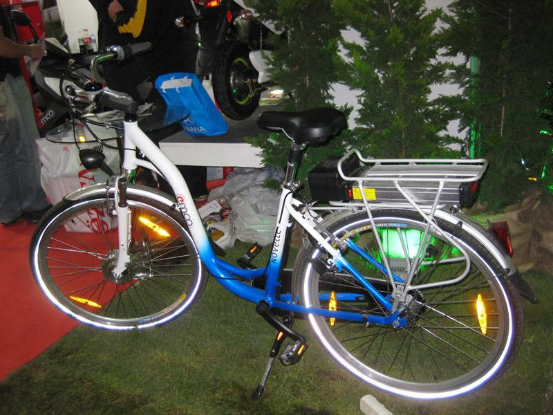 Motorun atası akülü bisiklet