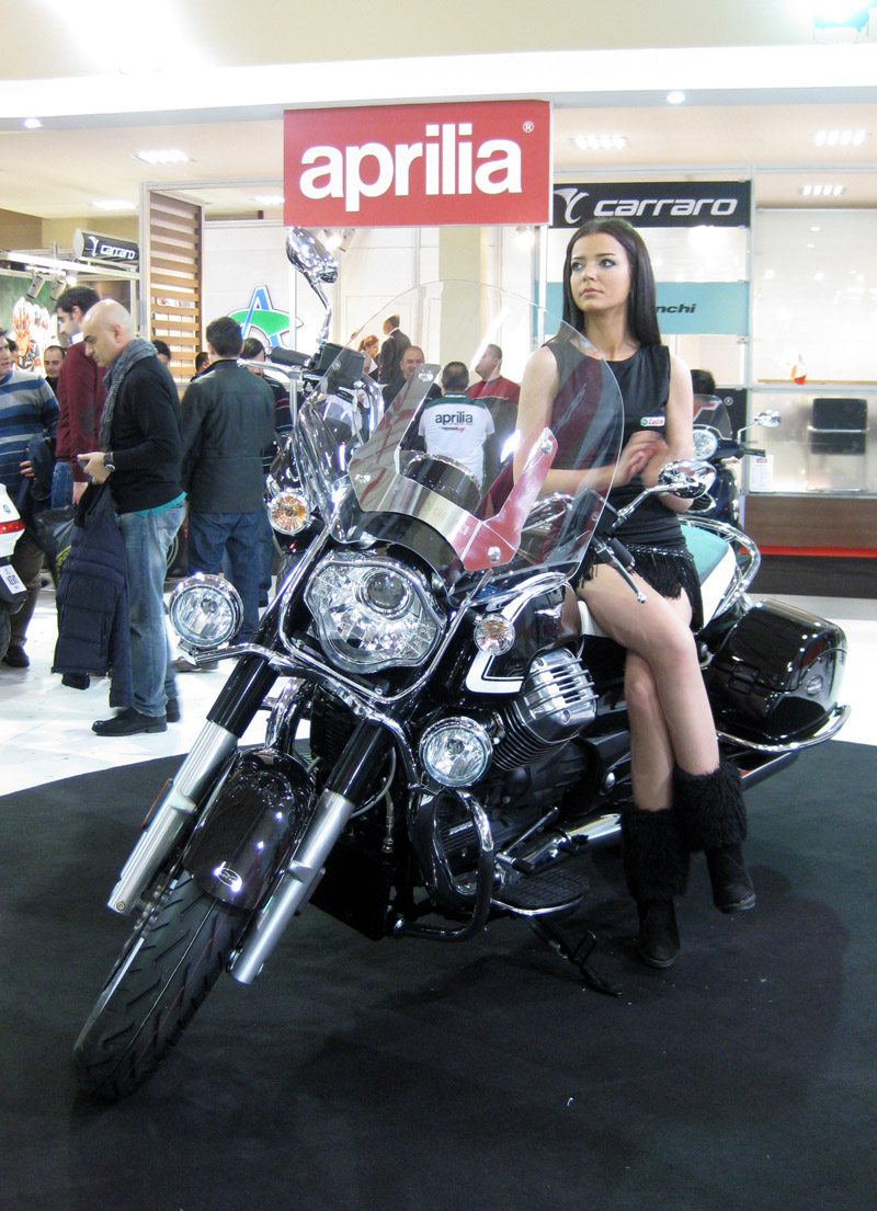 2013 Motosiklet Fuarı Mankenleri