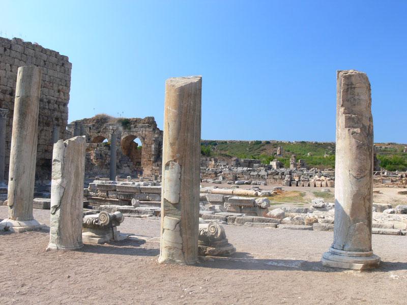 antalya tarihi eserleri