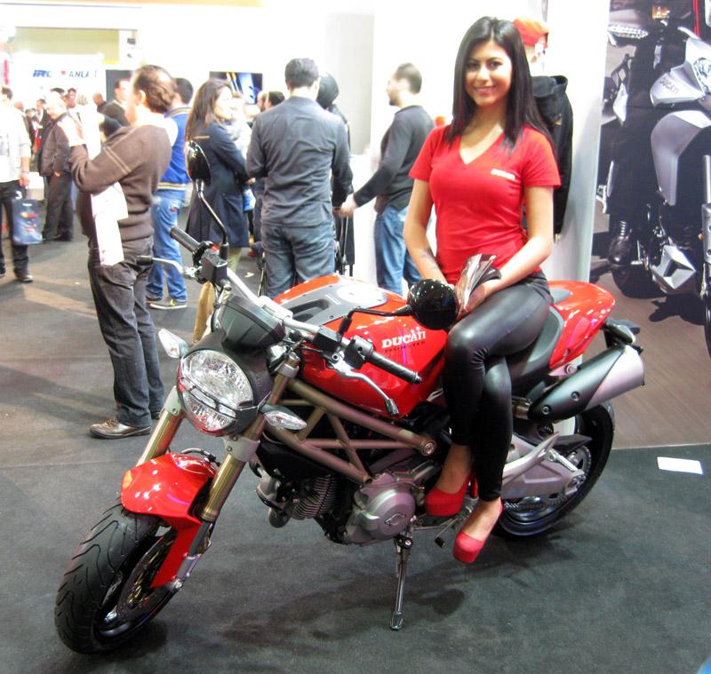 Fuar çekilişi büyük ödülü: Ducati Monster