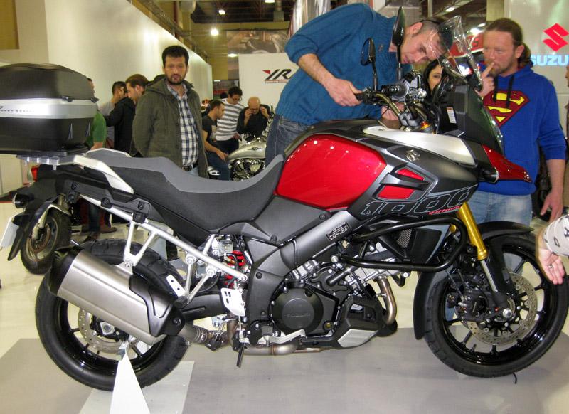 Eurasia Moto Bike Expo 2014, Suzuki