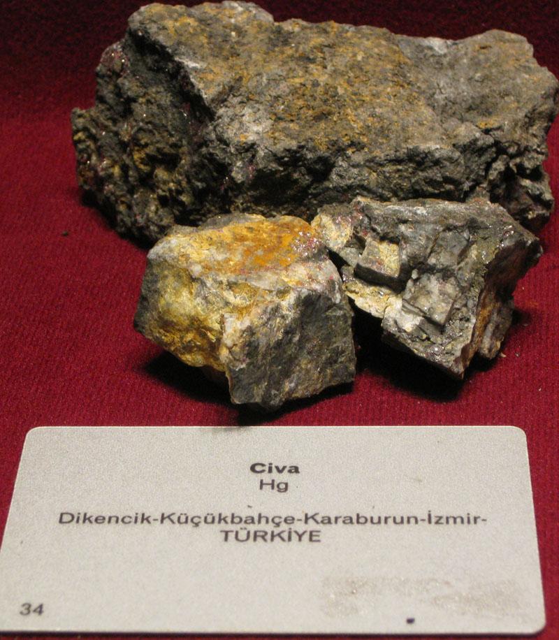 Metal Maden Mineral Civa