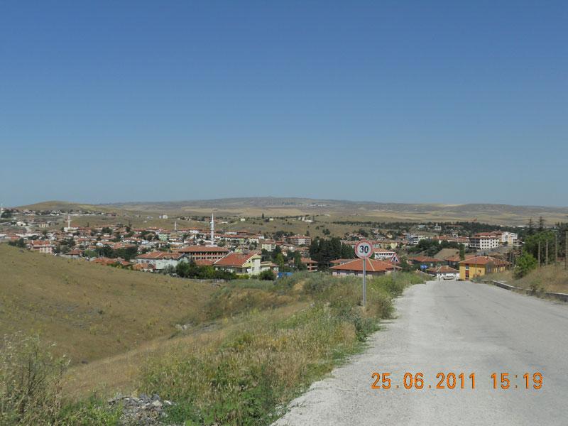anadoludan bir köy manzarası