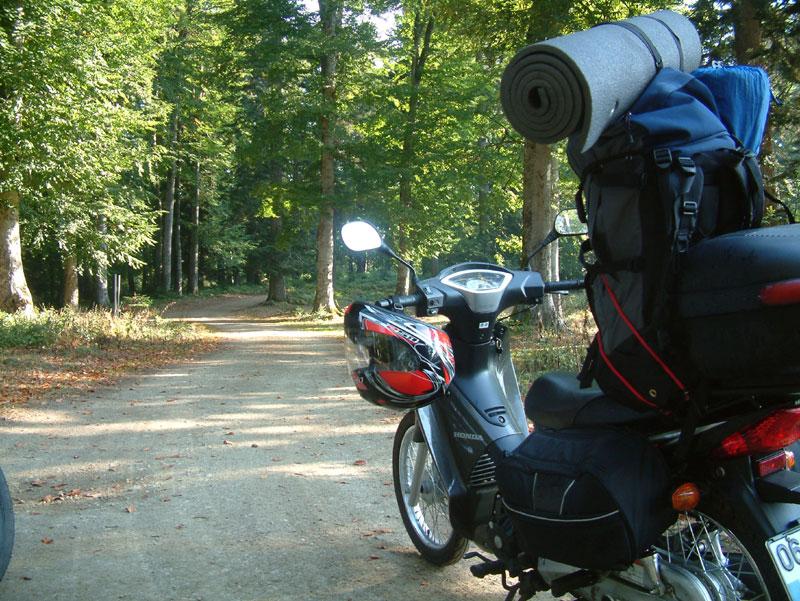 motosikletli kamp