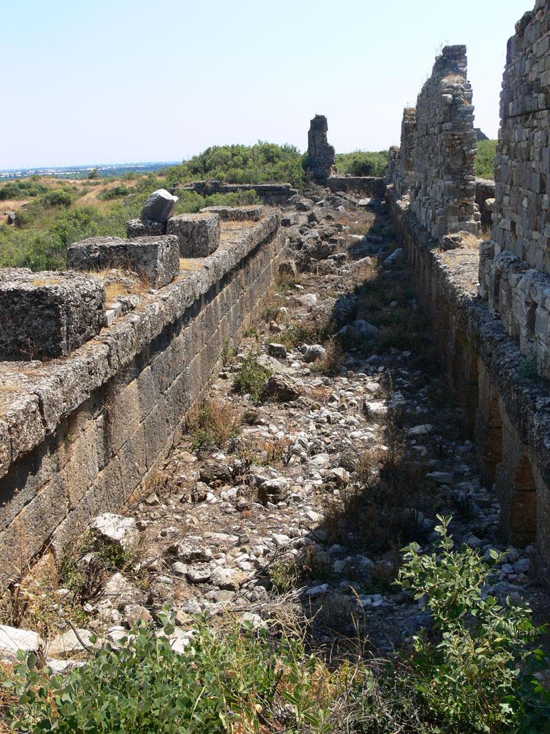 antik şehir kalıntıları