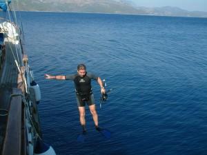tekneden atlama