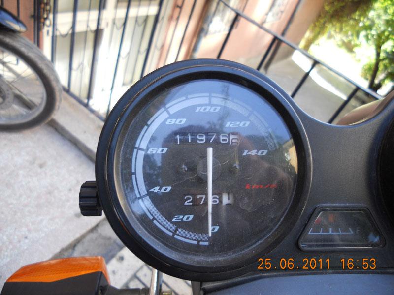 yamaha ybr 125 hız göstergesi