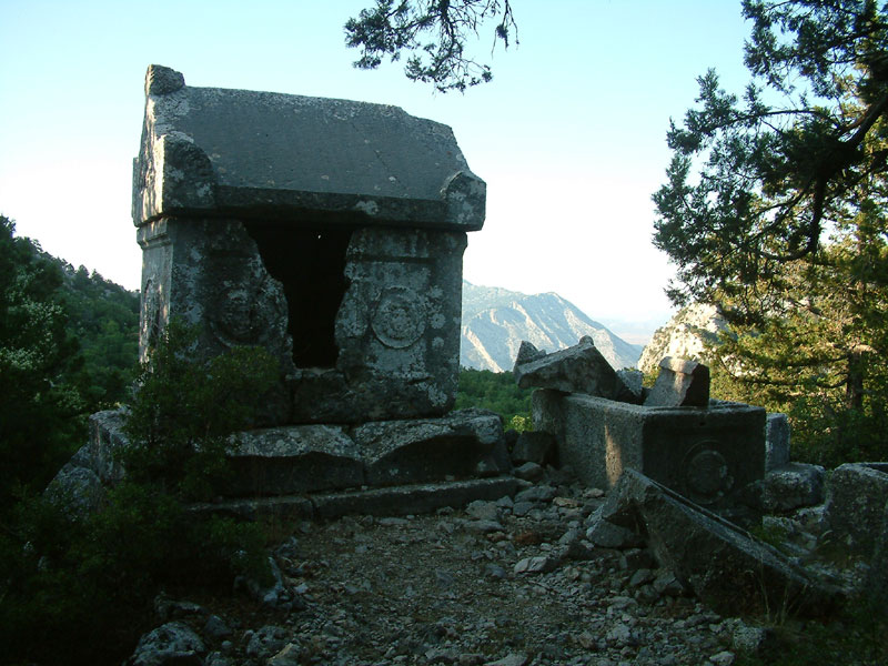 antik mezarlık