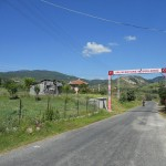 köy girişi