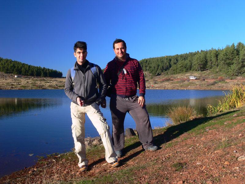 çubuk civarı göl