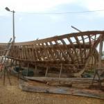Yapım Halinde Bir Tekne
