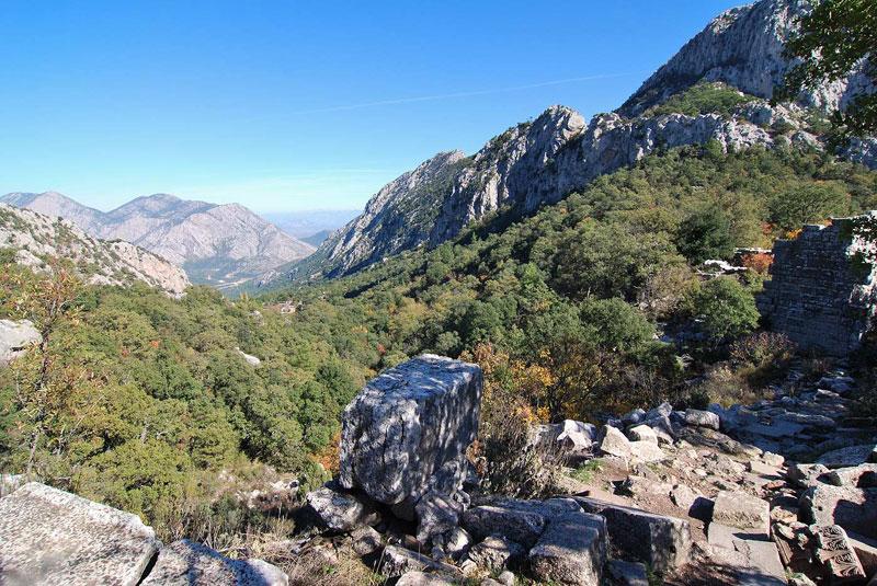 Güllük Dağı Milli Parkı Termessos