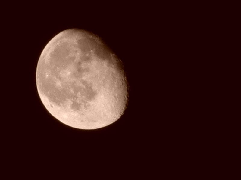 Ilgazda Ay Fotoğrafı