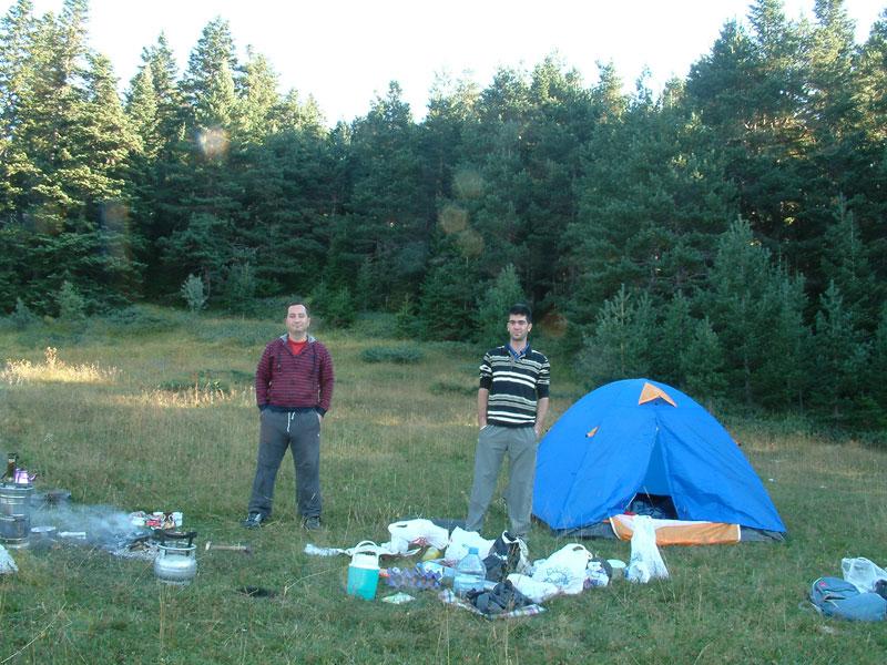 Ilgaz Dağı Çadır Kamp Yeri