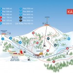 Kartepe Kayak Merkezi Pist Haritası