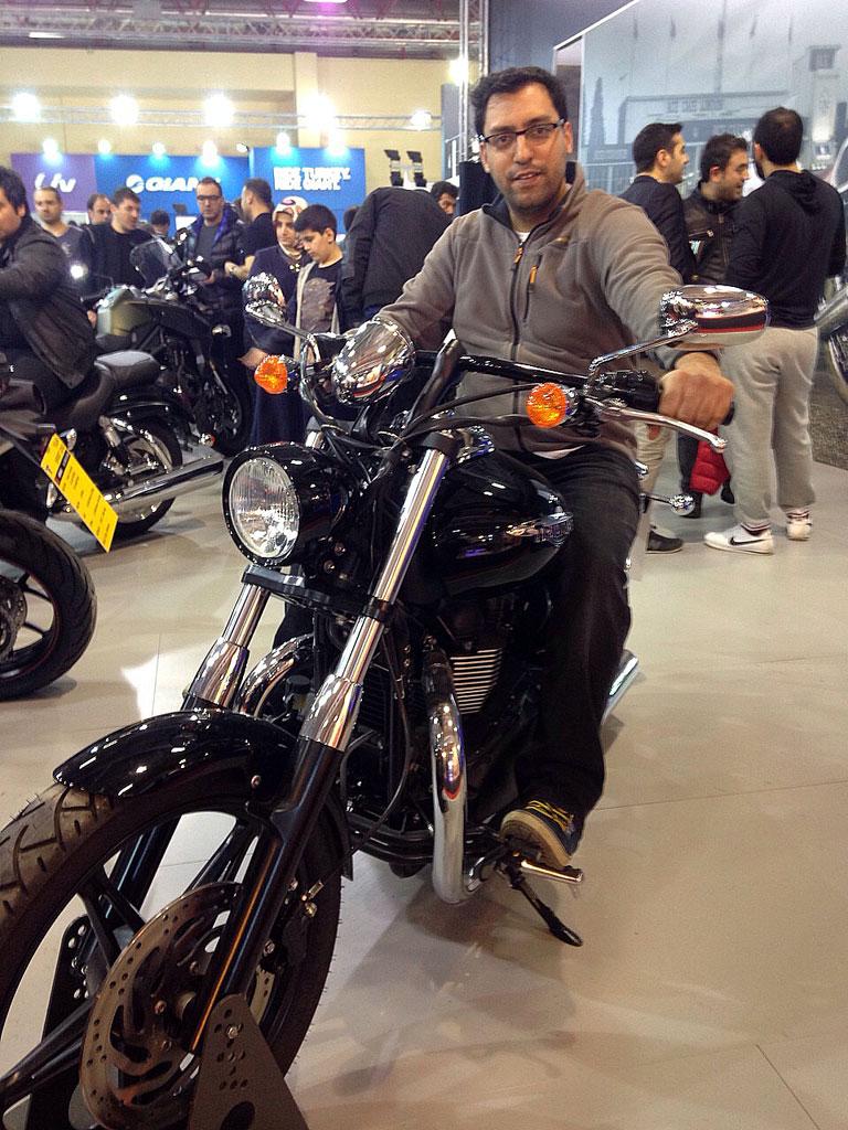 Motosiklet-Fuari-2015-Triumph-Chopper