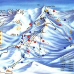 Palandoken Kayak Merkezi Pist Haritası