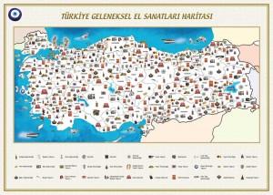 Türkiye'nin Geleneksel El Sanatları Haritası