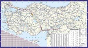 En Güncel Türkiye Karayolları Haritası