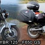 Yamaha-YBR-125-vs-BMW-F650-GS