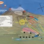 Erciyes Kayak Merkezi Pist Haritası